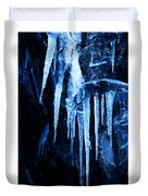 Tentacles Of Ice Duvet Cover