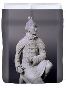 Terracotta Warrior  Duvet Cover