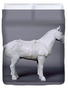 Terracotta Warrior's Horse Duvet Cover