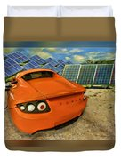 Tesla Car Duvet Cover