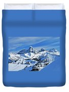 Teton Winter Duvet Cover