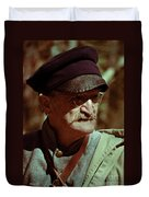 Texas Army Soldier Duvet Cover