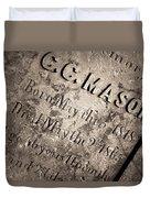 Tcm - C.c. Mason Grave Duvet Cover