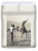 Texas: Cowboy, C1910 Duvet Cover
