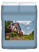 Texas Train Trestle 13984c Duvet Cover