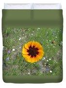 Texas Wildflower Duvet Cover