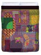 Textural 167 Duvet Cover
