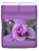 Textured Flowerr Duvet Cover