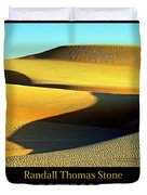 Textures In Sand - Melting Mesa Duvet Cover