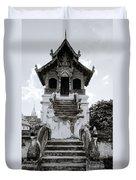 Thai Architecture Duvet Cover