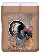 Thanksgiving Turkey Jitters Duvet Cover