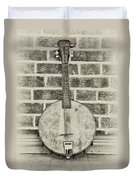 That Old Banjo Mandolin Duvet Cover