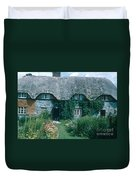 Thatched Roof, England Duvet Cover