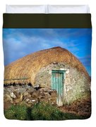 Thatched Shed, St Johns Point, Co Duvet Cover