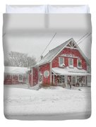 The 1856 Country Store On Main Street In Centerville On Cape Cod Duvet Cover