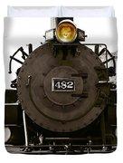 The 482 Durango To Silverton Duvet Cover