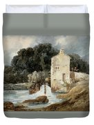 The Abbey Mill - Knaresborough Duvet Cover