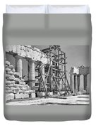 The Acropolis.  The Parthenon.  One Duvet Cover