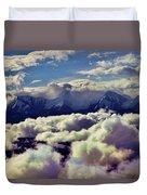 The Alaska Range Duvet Cover