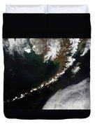 The Aleutian Islands And The Alaskan Duvet Cover
