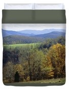 The Allegheny Front, North Fork Duvet Cover