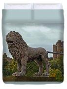 The Alnwick Lion Duvet Cover
