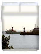 The Alpena Ship Duvet Cover