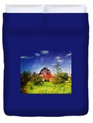 The Amish House Duvet Cover