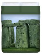 The Ancient Ruins Of Stonehenge Duvet Cover