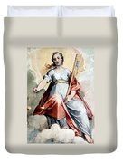 The Angel Of Justice Duvet Cover