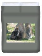 The Angry Ape Duvet Cover