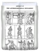 The Anthropometrical Signalment, 1896 Duvet Cover