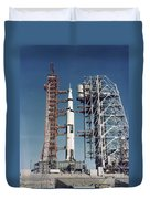 The Apollo 8 Space Vehicle Duvet Cover