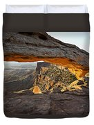 The Arch, Arches National Park, Moab Duvet Cover