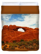 The Arches Of Utah Duvet Cover