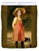 The Artist's Daughter - Hilde   Duvet Cover
