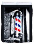 The Barber Pole Duvet Cover