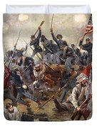 The Battle Of Spotsylvania Duvet Cover