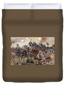 The Battle Of Spotsylvania Duvet Cover by Henry Alexander Ogden