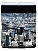 The Bay Bridge Duvet Cover