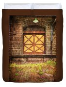 The Bay Door  Duvet Cover