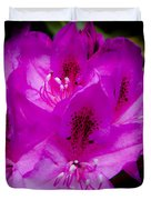 The Beautiful Rhododendron Duvet Cover