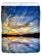 The Beauty Before The Darkness Duvet Cover