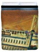 The Belle Of San Francisco Duvet Cover