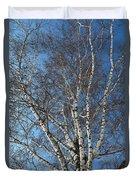 The Birch Duvet Cover