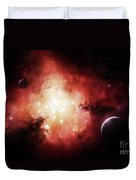 The Birth Of Numerous Stars Exposing Duvet Cover