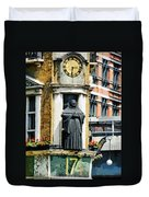 The Black Friar Pub In London Duvet Cover