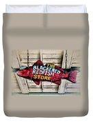The Blackened Redfish Store Duvet Cover