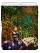 The Blue Knight  Duvet Cover
