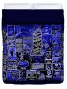 The Blues In Memphis Duvet Cover by Carol Groenen